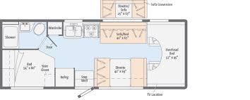 Coachmen Class C Motorhome Floor Plans Minnie Winnie Floorplans Winnebago Rvs