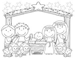 757 nativity printables images christmas