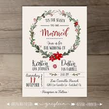 christmas wedding programs christmas wedding invitations dhavalthakur