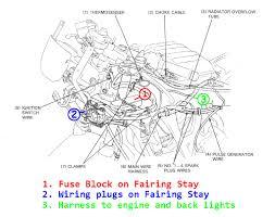 honda cbr 600 fuse box wiring diagrams