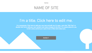 blank website templates for creative minds wix