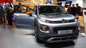 citroen usa citroen c3 aircross shows up in frankfurt with quirky design cues