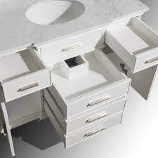 ackley 47 inch white finish bathroom vanity cabinet only