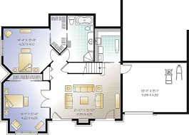 house plan with basement appealing house plan with basement plans with walkout basements at