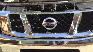 nissan armada brush guard how to plasti dip your grill and bumper nissan titan youtube