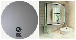 bathroom mirror defogger anti fog mirrors for bathroom my web value