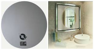 Anti Mist Bathroom Mirror Fog Free Glass Mirror Defogging Pad Anti Fog Bathroom Mirror