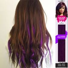 purple hair extensions thinking about getting colored hair extensions put in