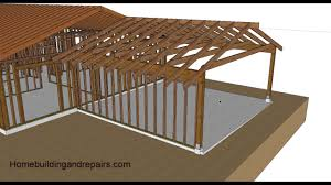 watch this video before turning your carport into a garage or