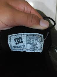 Gambar Sepatu Dc Ori cara bedain sepatu dc shoes asli dengan kw atau palsu infoblogterbaru