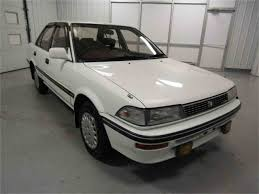 1991 Toyota Corolla Hatchback Classic Toyota Corolla For Sale On Classiccars Com 9 Available