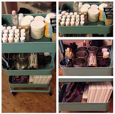 Rolling Bathroom Storage Cart by Ikea Rolling Cart Storage U2013 Jenuine Crafts