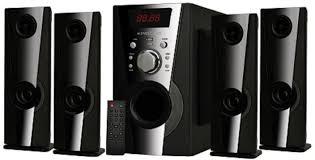 5 1 home theater system flipkart krisons eiffel 4 1 5 25 4 1 home cinema price in india buy