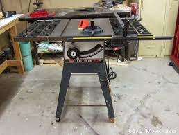 earthquake power drill 8900 javelin craftsman table saw crosscut