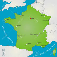 Marseille France Map by Big Map Of France U2013 Huze