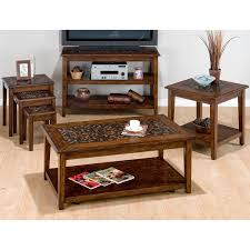 Tile Top Dining Tables Jofran Baroque Mosaic Tile Top Coffee Table Set The Simple Stores