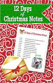 12 christmas notes red headed hostess