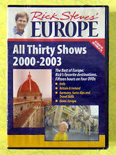 dvd travel rick steves ebay