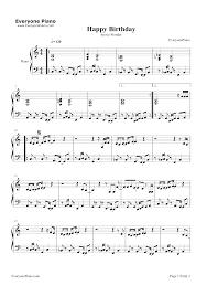 stevie wonder happy birthday happy birthday stevie wonder stave preview 1 free piano sheet music