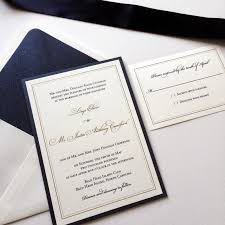 navy wedding invitations lirys justin s navy metallic gold thermography wedding