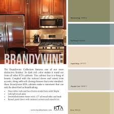 color palette to go with our brandywine kitchen cabinet line
