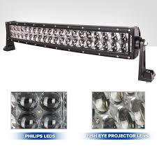 Philips Led Light Bar by Auxbeam 22 Inch Curved Light Bar Review U2013 Cree Led Light Bars