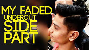 mens hairstyles undercut side part faded undercut with side part hairstyle hairstyle mayank