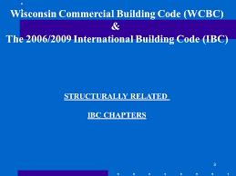 International Building Code Wisconsin Commercial Building Code Ppt Video Online Download