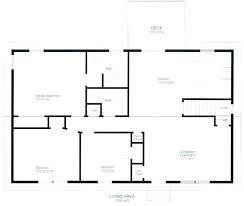 cottage floor plans free simple house plans free informal simple house plan drawing draw