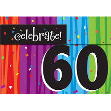 celebrate 60 birthday milestone celebrations 60th birthday invitations 8pk walmart
