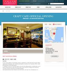 Google Maps Miami Beach by Craft Cafe Sobe Artisanal Cafe Miami Beach Fl