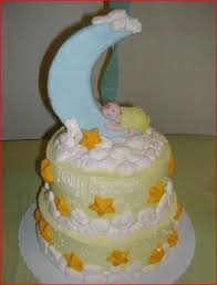 cute crescent moon and star baby shower cake jpg hi res 720p hd