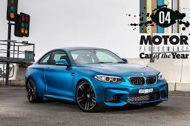 bmw car of the year bmw m2 performance car of the year 2017 4 motor