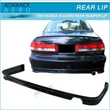 2001 honda accord coupe parts for 98 02 honda accord sedan 4dr abs rear bumper lip spoiler