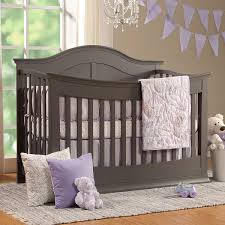 Dream On Me 4 In 1 Portable Convertible Crib by Davinci Meadow 4 In 1 Convertible Crib In Slate Free Shipping