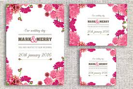 Thailand Wedding Invitation Card Hand Drawn Wedding Invitation Card Invitation Templates