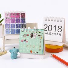 small desk calendar 2017 jianwu cute cartoon mini desk calendar 2017 2018 small desk calendar