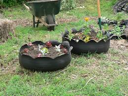 Recycling Garden Ideas 10 Ideas For Recycled Garden Planters On The Cheap Recyclescene