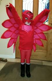pj masks owlette costume mask wings sold separately ready