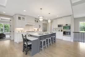 what color kitchen cabinets with wood floor kitchens wood floors creek hill custom homes