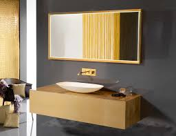 ambiance bain eden 140 designer bathroom vanity in gold leaf