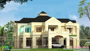 Colonial House Designs 5000 Sq Ft House Plans In India