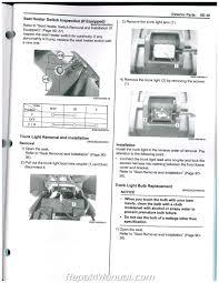 2013 u2013 2015 burgman 650 an650 suzuki scooter service manual