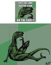 Velociraptor Meme - the rest of the questioning raptor meme album on imgur