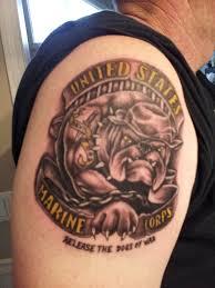 army marine tattoos