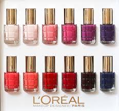 oil infused nail polish l u0027oreal paris le vernis a l u0027huile nail
