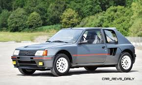 peugeot 102 car 1984 peugeot 205 turbo 16 is most valuable post war pug