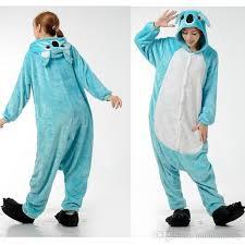 koala blue sleepwear animal onesies pajamas adults animal