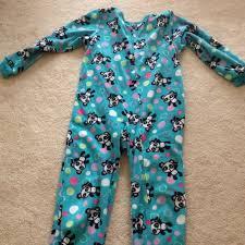 47 circo other 14 16 panda onsie flannel pajamas