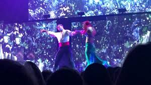 dwts light up the night tour dwts light up the night tour sharna gleb little mermaid waltz